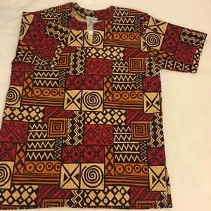 African Accents Kente Shirt